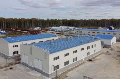 Казанское НГКМ - вспомогательные объекты (гараж, МРУ, база ЛЭС)