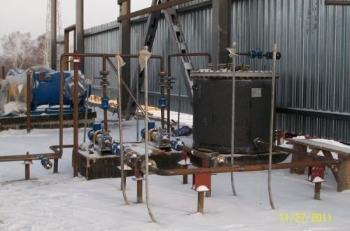 Строительство Приемо-сдаточного пункта (ПСП) Яйского НПЗ